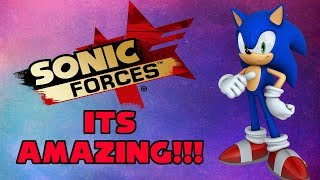 Sonic Forces Is An Amazing Sonic Game!