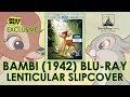 Bambi (1942) Best Buy Exclusive Blu-ray Lenticular Slipcover Unboxing | Walt Disney
