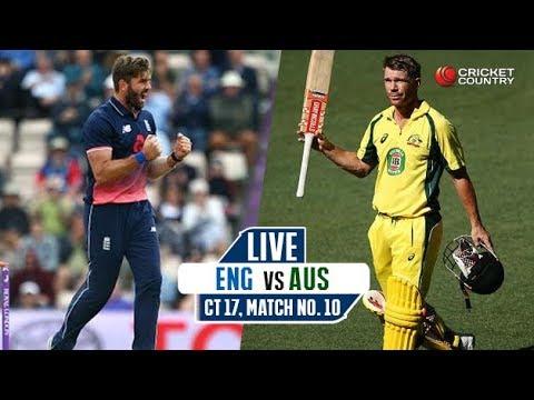 England Vs  Australia  Champion Trophy Live Streaming 2017