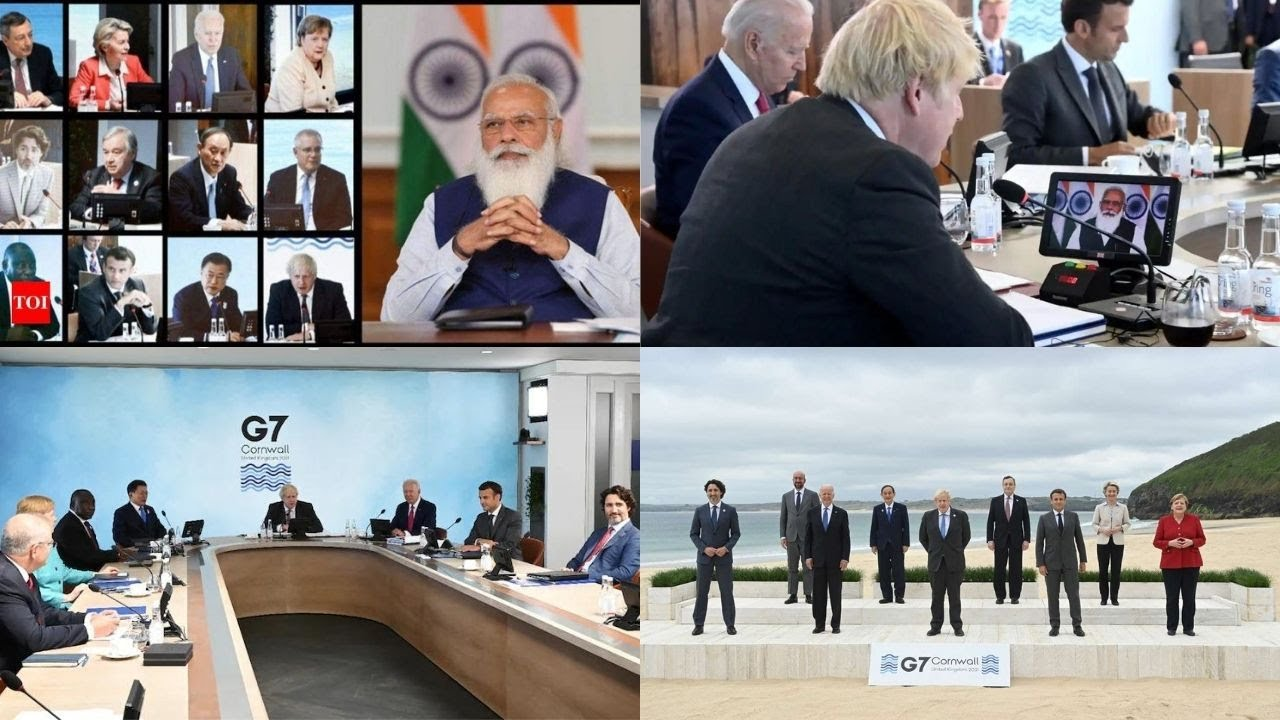 One Earth One Health: PM seeks support on COVID vaccines patent waiver at G7 meet
