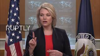 USA: 'Russian? Enough said' - Nauert refuses to 'tolerate' Russian media