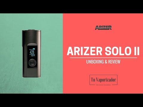 Vaporizador Arizer Solo 2 – Unboxing & Review en Español