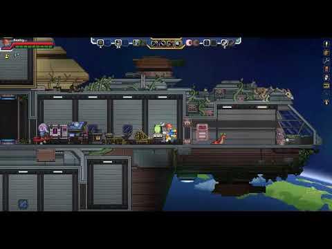 UPGRADING THE SHIP - Starbound: Frackin Universe Mod