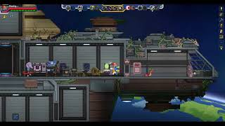 Build Your Own Ship! | Let's play Starbound Frackin