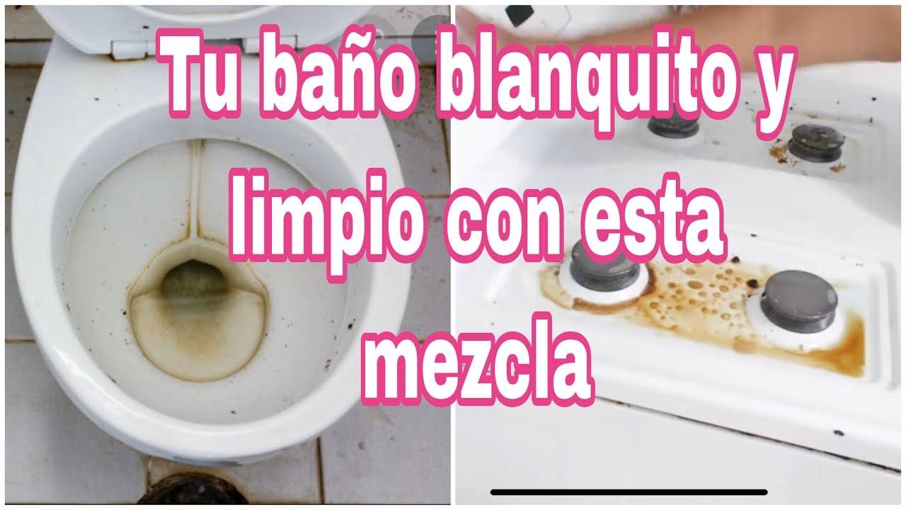 COMO limpiar el inodoro (baño) rápido, fácil y EFICIENTE! COMO QUITAR COCHAMBRE DE LA ESTUFA FACIL!