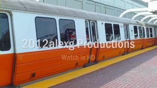 HD MBTA Orange Line at Massachusetts Ave.