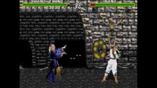 Mortal Kombat 1 [Genesis] - morphing using Shang Tsung!