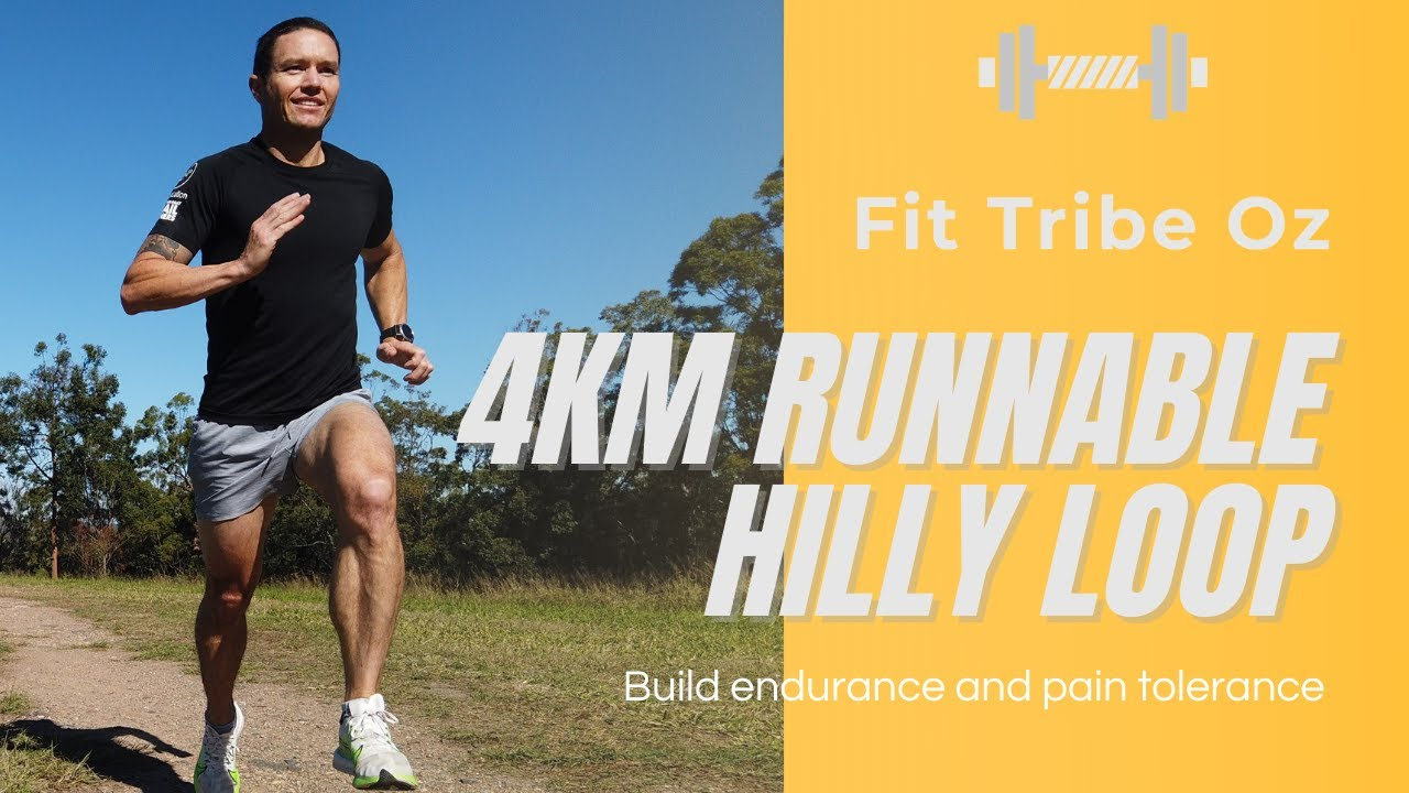 Mt Cootha 4km runnable hilly loop
