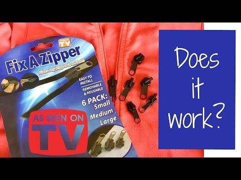 Fix A Zipper *As Seen On TV*