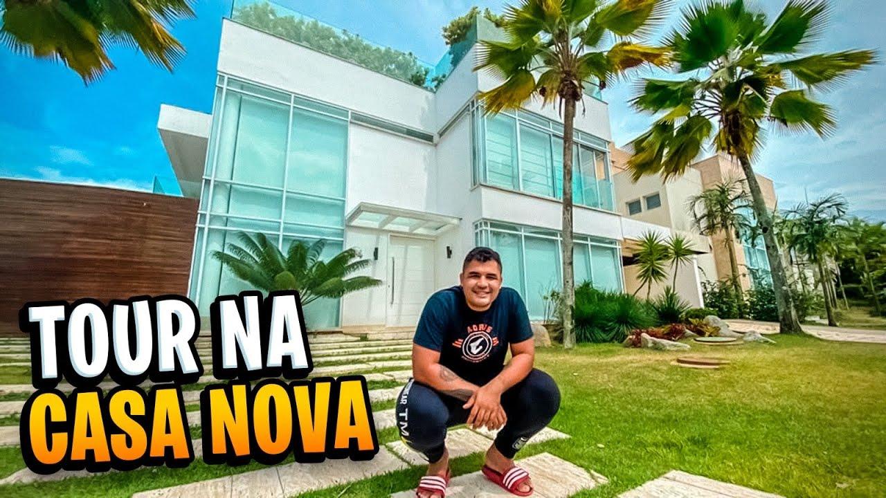 TOUR PELA CASA NOVA!