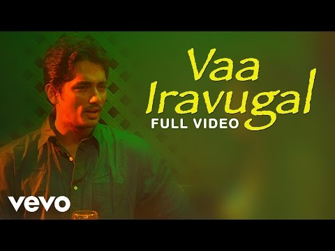 Udhayam NH4  Vaa Iravugal Video  Siddharth, Ashrita
