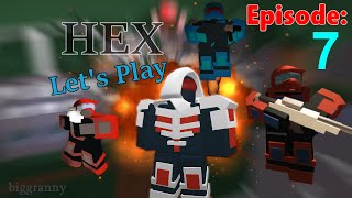 [Snow Map!] HEX ROBLOX | Let's Play #7 w/ Friends Commentary HD