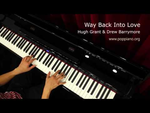 琴譜♫ Way Back Into Love - Hugh Grant & Drew Barrymore 香港流行鋼琴協會 Pianohk.com 即興彈奏