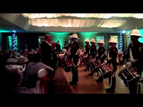 Royal Marines Drum Corps @ Wedding Party 2
