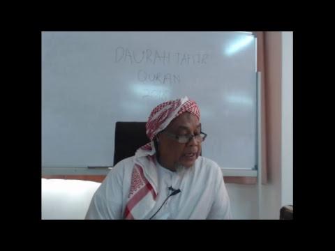 Download DAURAH TAFSIR  QURAN DI MADRASAH TAFSIR SUNNAH 2018 SESI PTG  ( 29-4-18)