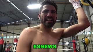Jose Ramirez The 140 King Last Workout On His Way To  China To Face Postol Feb 1 EsNews Boxing
