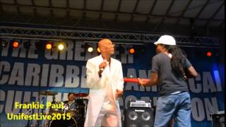 Frankie Paul At UnifestLive 2015