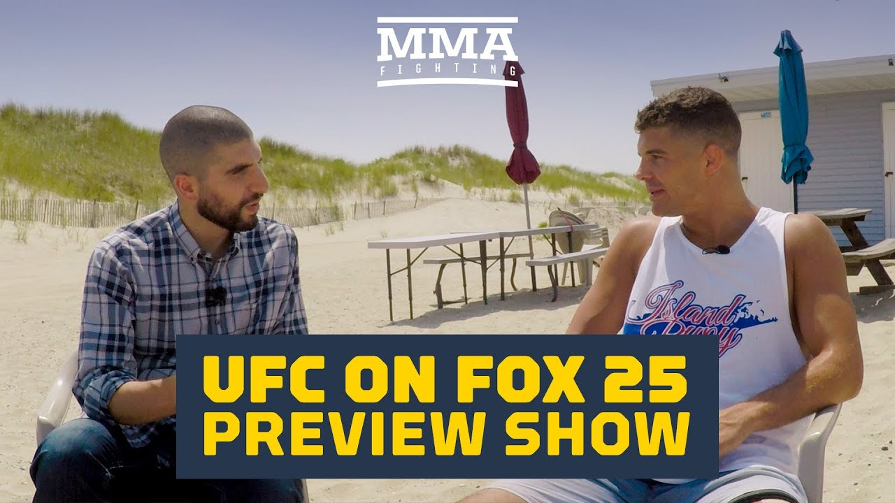 ufc-on-fox-25-preview-show-with-al-iaquinta-mma-fighting