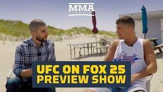 UFC on FOX 25 Preview Show With Al Iaquinta - MMA Fighting thumbnail