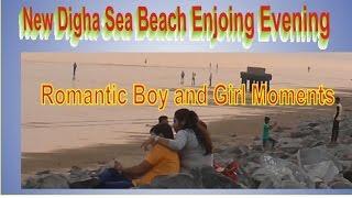 New Digha Evening Sea Beach Romantic Mood/Honeymoon couple