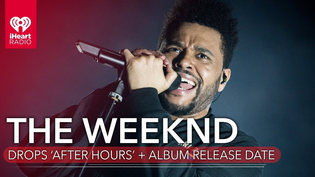 The Weeknd reveals release date, album art for 'After Hours'