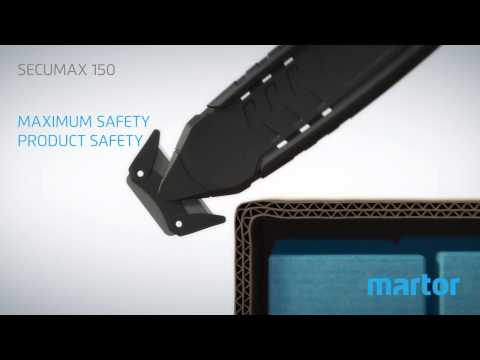 Safety knife MARTOR SECUMAX 150 product video GB
