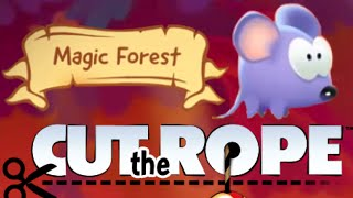 Cut the Rope Magic Magic Forest Walkthrough All Level 3-1 - 3-22 ★ 3 STAR ★ iOS, Android