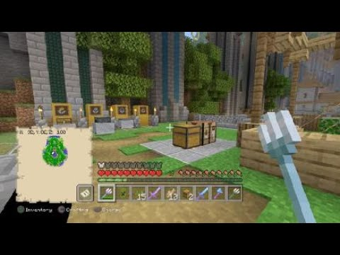 Minecraft - Playing the WHOLE game in the tutorial world - Part 1 thumbnail