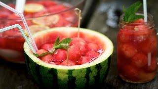 Korean Watermelon Punch Recipe