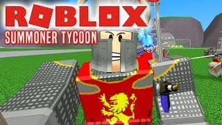 ALLE MINE HELTE! - Roblox Summoner Tycoon Dansk Ep 1