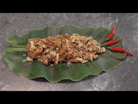 Bananenbloemen  met Linzen & Bananenbloesems in Surinaamse masala (vegetarisch)