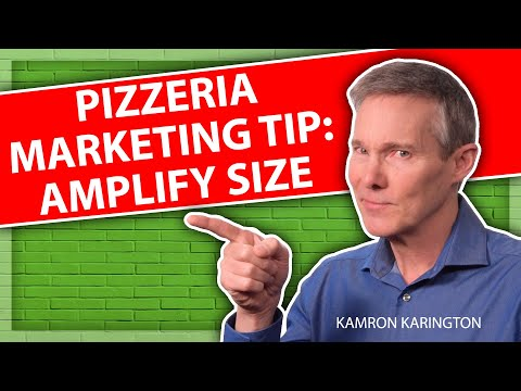 Pizza Marketing Tip - Restaurant Marketing Idea #restaurantsales