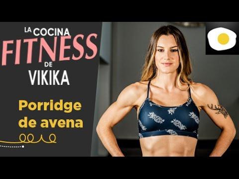Receta de porridge o gachas de avena con manzana la cocina fitness de vikika youtube - La cocina fit de vikika pdf ...