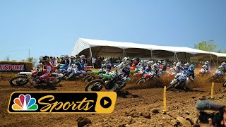 Pro Motocross: 2018 Red Bull Motocross Classic Race Highlights I NBC Sports