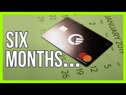 Curve Card Review Update - 6 Months On!