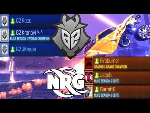 G2 VS. NRG - DROPSHOT SEMI-FINALS
