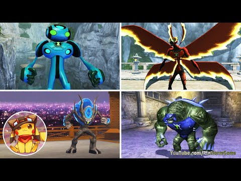 BEN 10 Ultimate Alien Cosmic Destruction - All Ultimate Transformations [1080p]