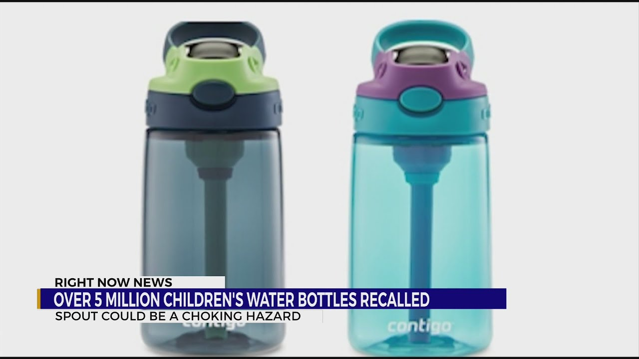 Over 5 million children's water bottles recalled due to choking ...