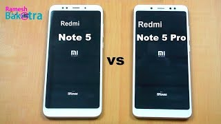 redmi Note 5 Pro Vs Redmi Note 3  Speed Test  Snapdragon 650 Vs 636OMG Amazing Results