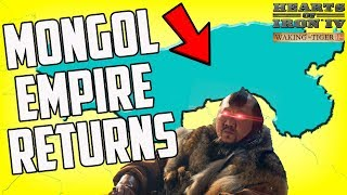 Mongol Empire Returns! Hearts of Iron 4 HOI4 Gameplay