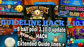 8ball pool 3.10.1 guideline hack new update auto win long line hack