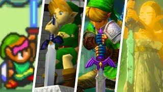 Evolution of The Master Sword (1991 - 2019)