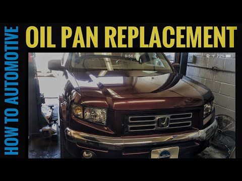 How to Replace the Oil Pan on a 2008 Honda Ridgeline/Pilot