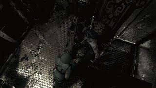 02. Resident Evil HD Remaster Jill Real Survival Walkthrough (No Commentary) - The Armor Key
