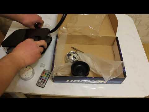 Мини-обзор кальяна Hookah Acrylic Box