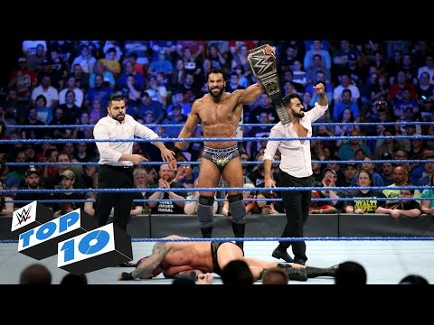 Top 10 SmackDown LIVE moments: WWE Top 10, May 16, 2017