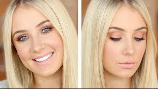 Peachy Summer Corals Makeup Tutorial! Thumbnail