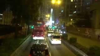 Hong Kong KMB bus #26 Ping Shek-Tsim Sha Tsui (Chungking Mansion) 九龍巴士坪石至尖沙咀重慶大廈 2015-10-04