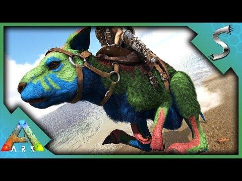 FULLY MUTATED PROCOPTODONS! BREEDING NANNIES AND BATTLE KANGAROO! - Ark: Survival Evolved [S4E99]
