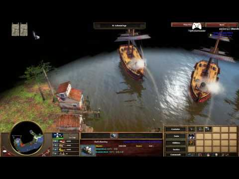 Age Of Empires 3 Speedrun Spanish Treasure Fleet Hard 2:03